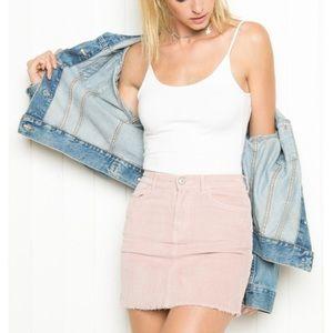 Super cute corduroy brandy Melville skirt